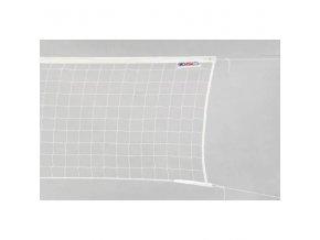 Volejbalová síť bílá se šňůrou BASIC