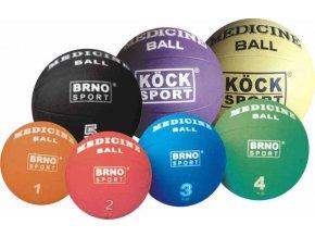 Medicinální míč 4 kg gumový