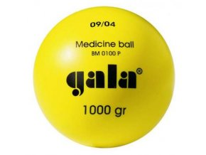 Medicinální míč BM 0100P 1 kg plastový