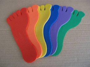 znacka noha slapota pro deti