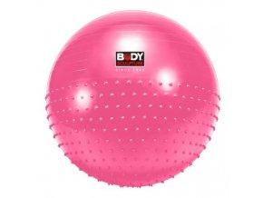 Gymnastický míč Gymball Pink DUO, 65 cm