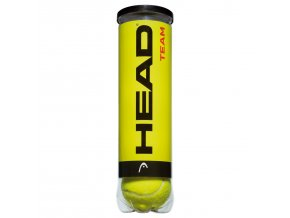 Tenisové míče HEAD TEAM - doza 4 ks