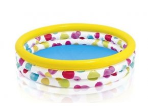 Bazén INTEX 58439 nafukovací dětský COLOR WAVE