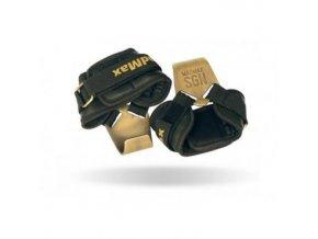 MadMax kovové úchopné háky METALLIC kožené
