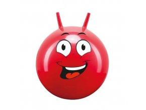 Hop Obličej John 45-50cm skákací míč s rukovítky