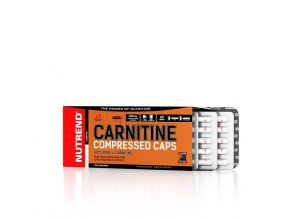 Nutrend CARNITINE COMPRESSED CAPS, 120 kapslí