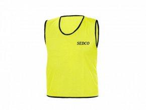 Rozlišovací dresy děrované ŽLUTÁ RICHMORAL - XL
