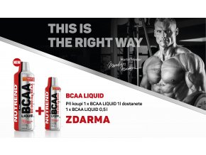 Nutrend BCAA LIQUID 1000 ml + BCAA LIQUID 500 ml ZDARMA