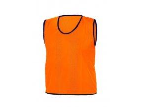 Rozlišovací dresy STRIPS ORANŽOVÁ RICHMORAL velikost XL