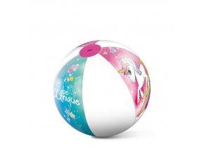 Nafukovací plážový míč MONDO Jednorožec 50 cm