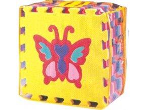 Pěnové puzzle - Zvířátka, 30x30x1,4 cm, 10 ks - FM931