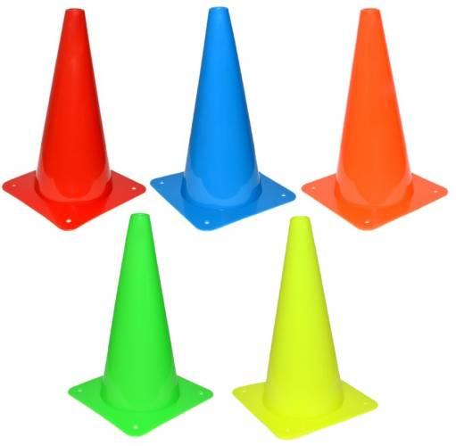 Kužel tréninkový 30 cm bez otvorů Barva: Modrá