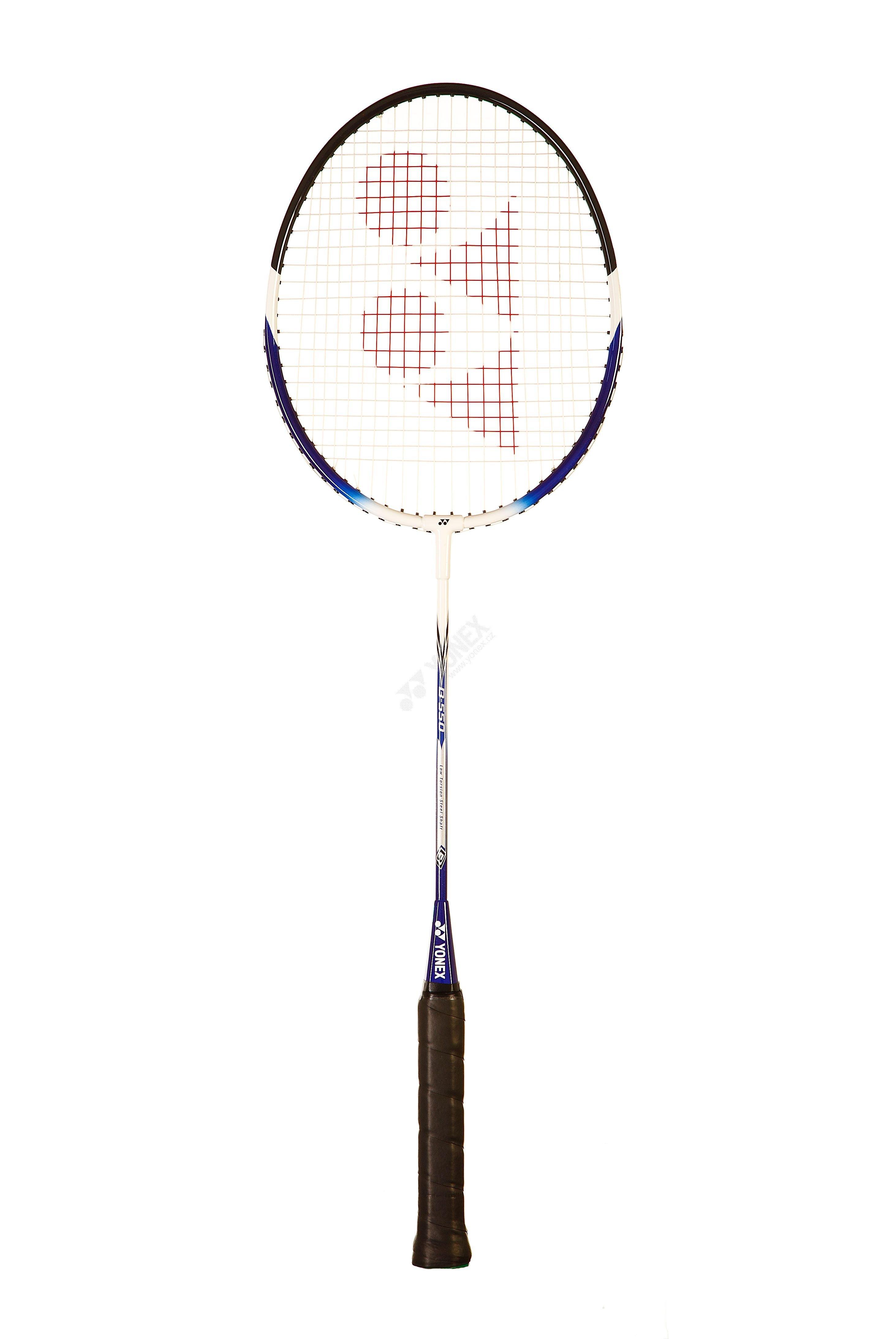 Raketa badminton YONEX B 550 Barva: Bílá/Modrá