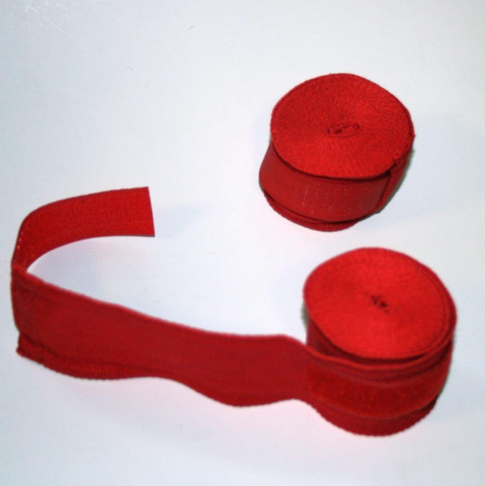 Bandáž Fit Box, elastická, 5cm x 3 m, 2 ks Barva: Červená
