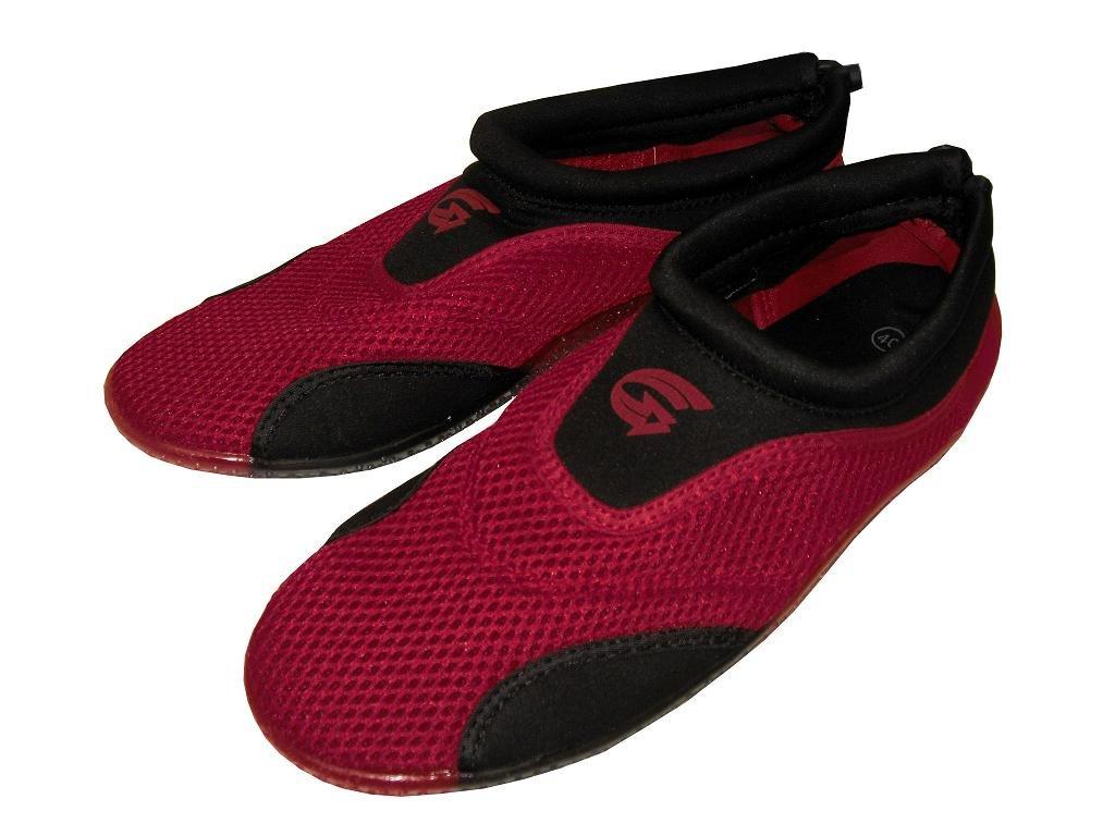 Plážová neoprenová obuv ALBA, červená Velikost: 35