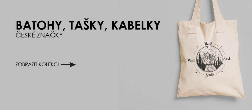 České batohy, kabelky, tašky