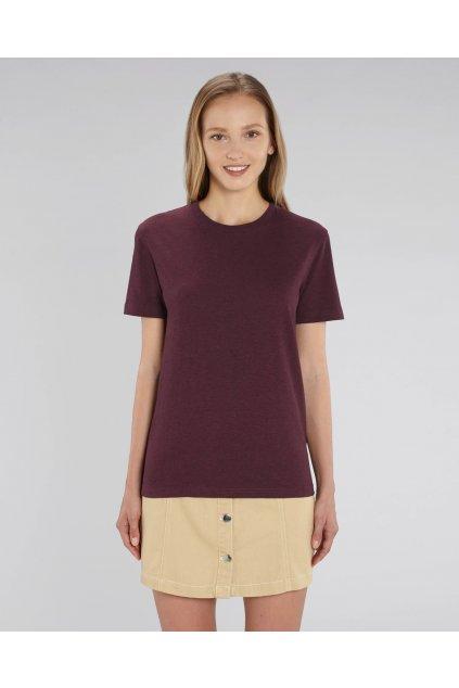 Unisex tričko barva : Grape Red