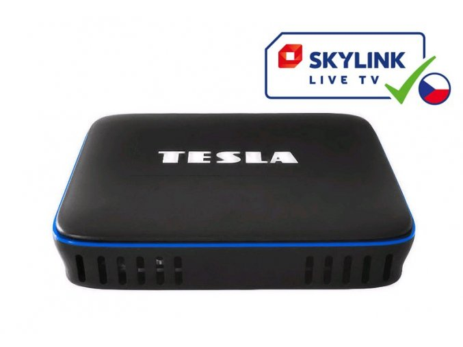 TESLA MediaBox QX4 - Skylink Live TV ČESKÁ VERZIA
