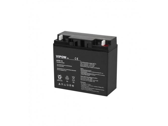 vipow akumulator gelovy 12v 20ah bat0218 1000x1000h