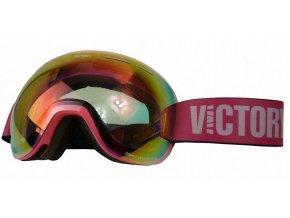 brýle lyžařské Ski/SNB VICTORY V615C růžové