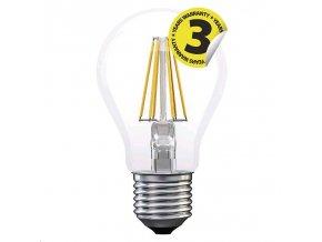 LED žárovka Filament A60 A++ 4W E27 teplá bílá