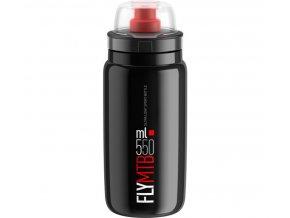 lahev ELITE FLY MTB černá/červené logo 550 ml