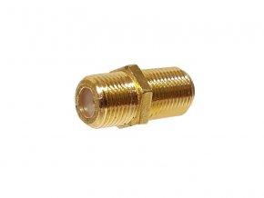 Konektor F spojka GOLD