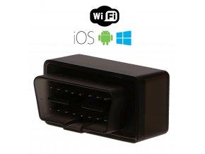 Autodiagnostika SX1 WiFi černá, IOS, Android, Windows (zdarma SX OBD aplikace) SIXTOL