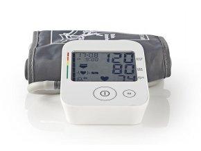 NEDIS BLPR120WT měřič krevního tlaku na nadloktí, paměť pro 60 záznamů