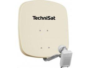 Parabola TechniSat DigiDish 45 béžová + twin LNB