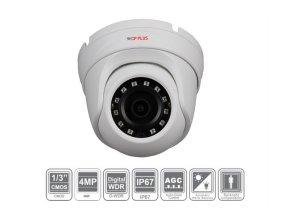 Kamera IP venkovní 4 Mpix dome CP-UNC-DS41ML3-0280 s IR přísvitem