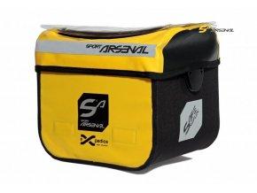 brašna Sport Arsenal 310 řidítková KlickFix žlutá