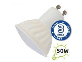 LED žárovka GU10 7W SPOT bílá studená
