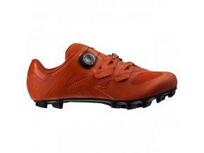 boty Mavic CROSSMAX ELITE červeno-oranžové