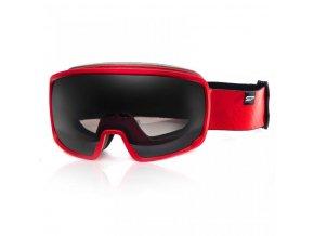 brýle lyžařské SPOKEY GRAYS červené