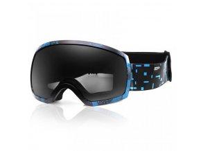 brýle lyžařské SPOKEY RADIUM tmavě modré