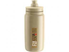 lahev ELITE FLY 20 béžová/hnědé logo 550 ml