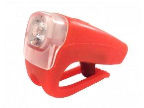 osvětlení přední 4RACE LF03 3 LED + USB červené