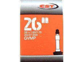 """duše CST 26""""x1.50-1.75 (40/47-559) DV/40mm"""