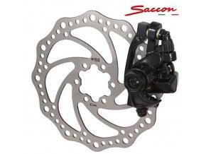 brzda kotoučová Saccon přední mechanická s kotoučem 160mm