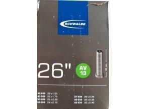 """duše SCHWALBE AV13 26""""x1.50-2.40 (40/62-559) AV40mm"""