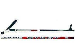 hole běžecké SKOL Start RED 125-160cm
