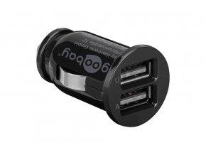 adaptér USB do auta Goobay (2400mA)