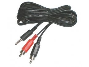 Kábel TIPA JACK 3.5 stereo/2xCINCH 1,5m