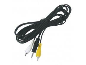 Kábel TIPA JACK 3.5 stereo/2xCINCH 3m