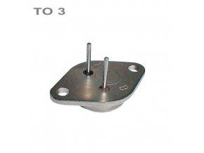 Tranzistor KD366A PNP 80V,8A,60W TO3