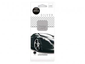 Vôňa do auta CAR CITY Card silver
