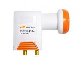 Satelitný konvertor GoSAT GSC-102 Twin