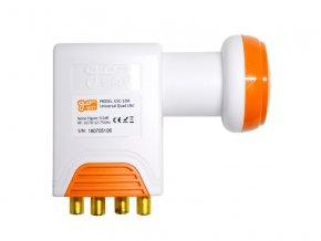 Satelitný konvertor GoSAT GSC-104 Quad