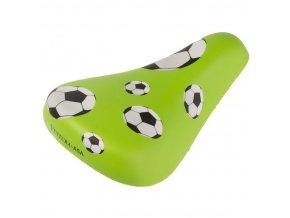 sedlo dětské Ventura Fotbal zelené
